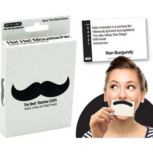 Other - Ha Ha Name That Stache' Moustache Card Game